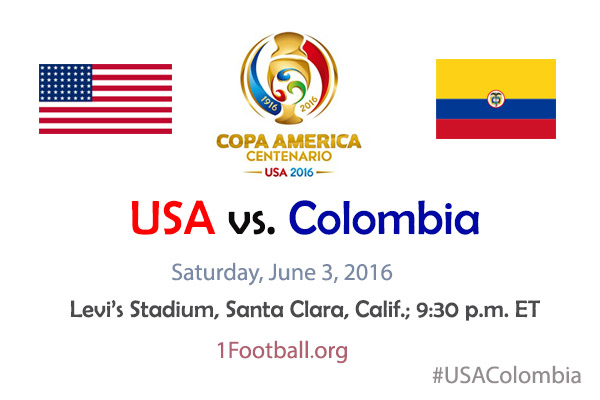 USA vs. Colombia - Copa America 2016 - No1 Football Info ...