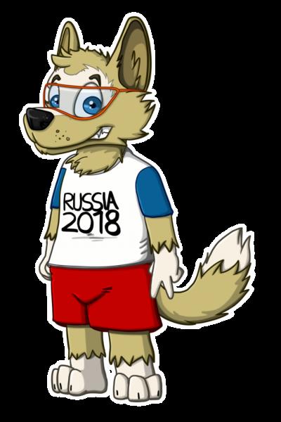 2018 world cup mascot zabivaka 11